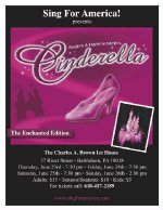 Cinderella: The Enchanted Edition in Bethlehem